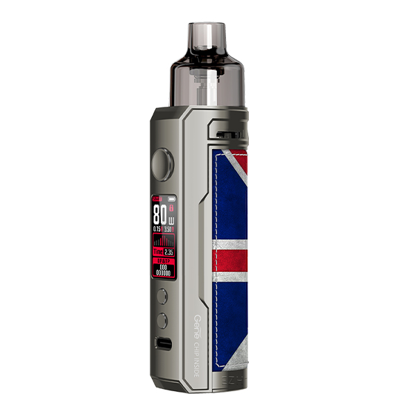 Voopoo Drag X Pod Kit Farbe: Silver Knight