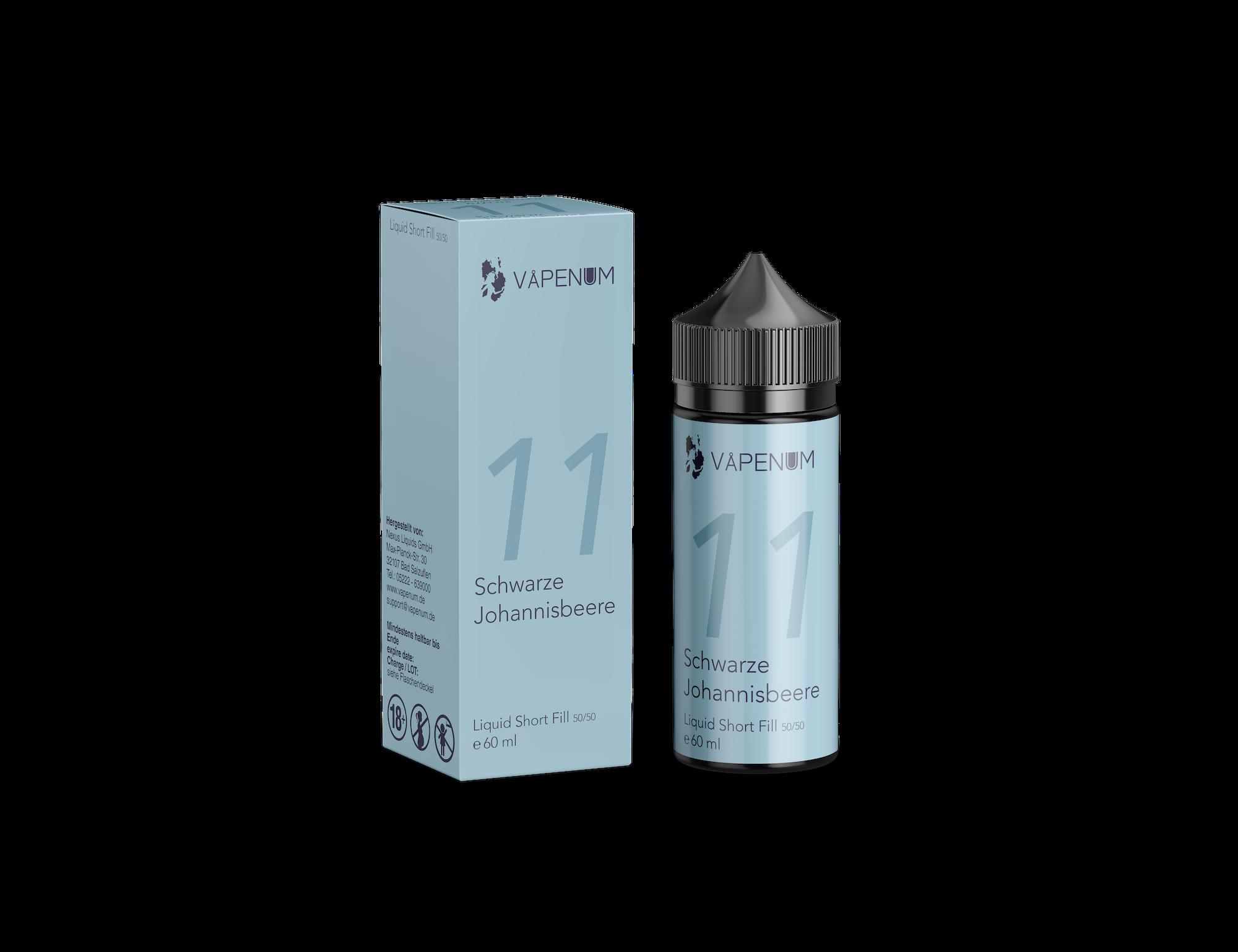 Vapenum Shortfill 11 - Schwarze Johannisbeere