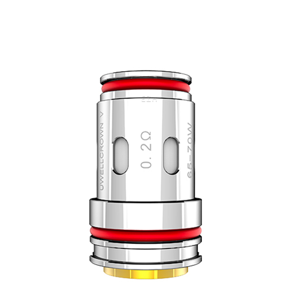Uwell Crown 5 Verdampferkopf Coil OHM: UN2-3 Meshed-H Coil 0,2 OHM