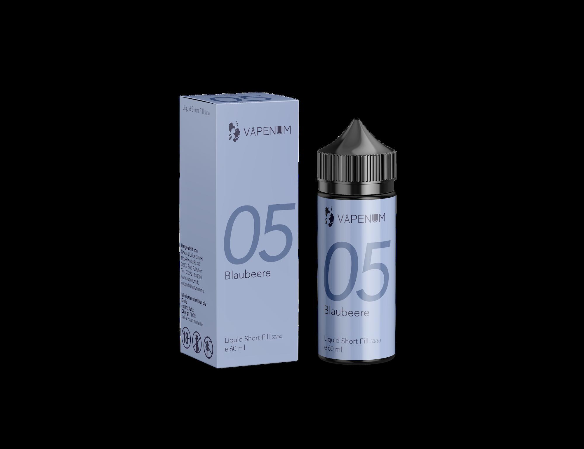 Vapenum Shortfill 05 - Blaubeere