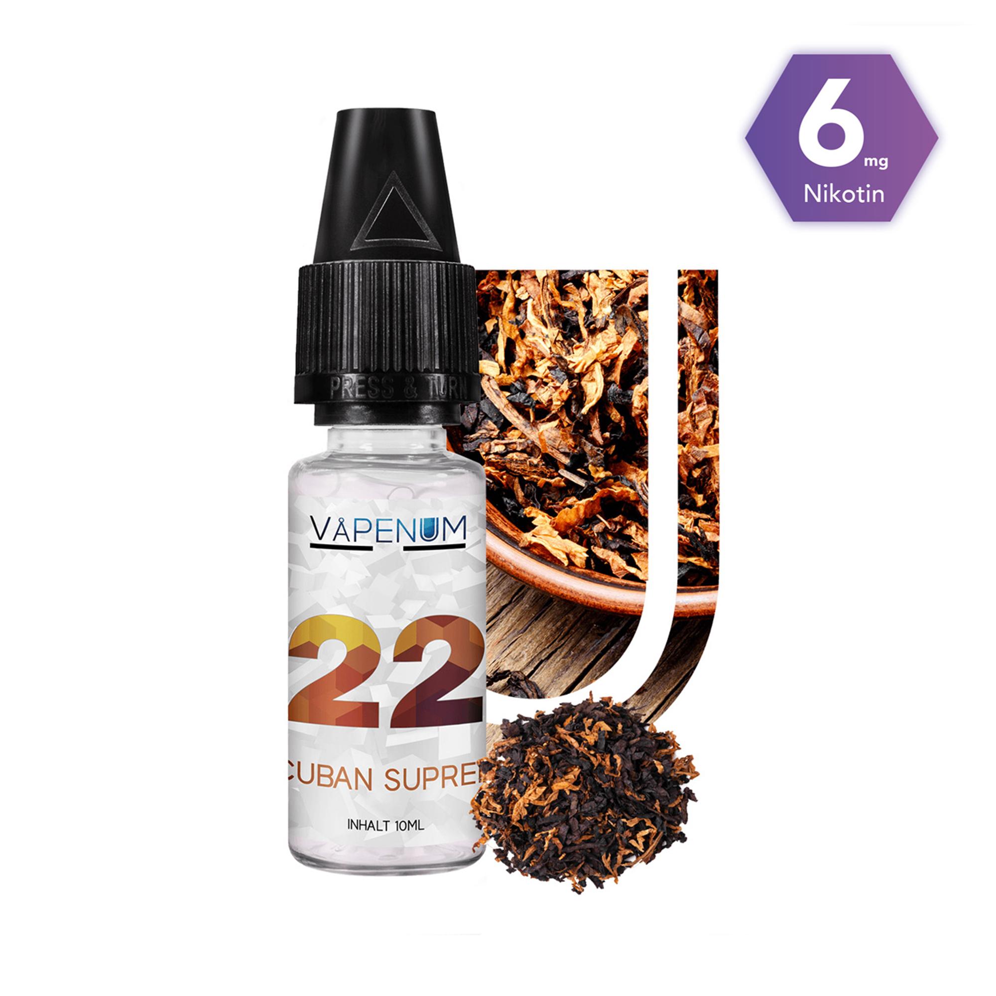 22 - Cuban Supreme Liquid by Vapenum