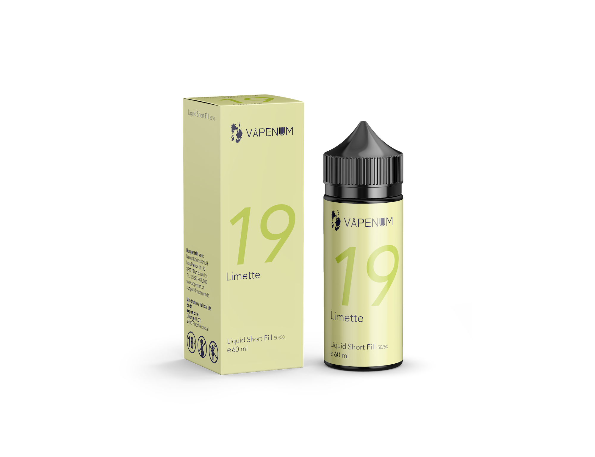 Vapenum Shortfill 19 - Limette