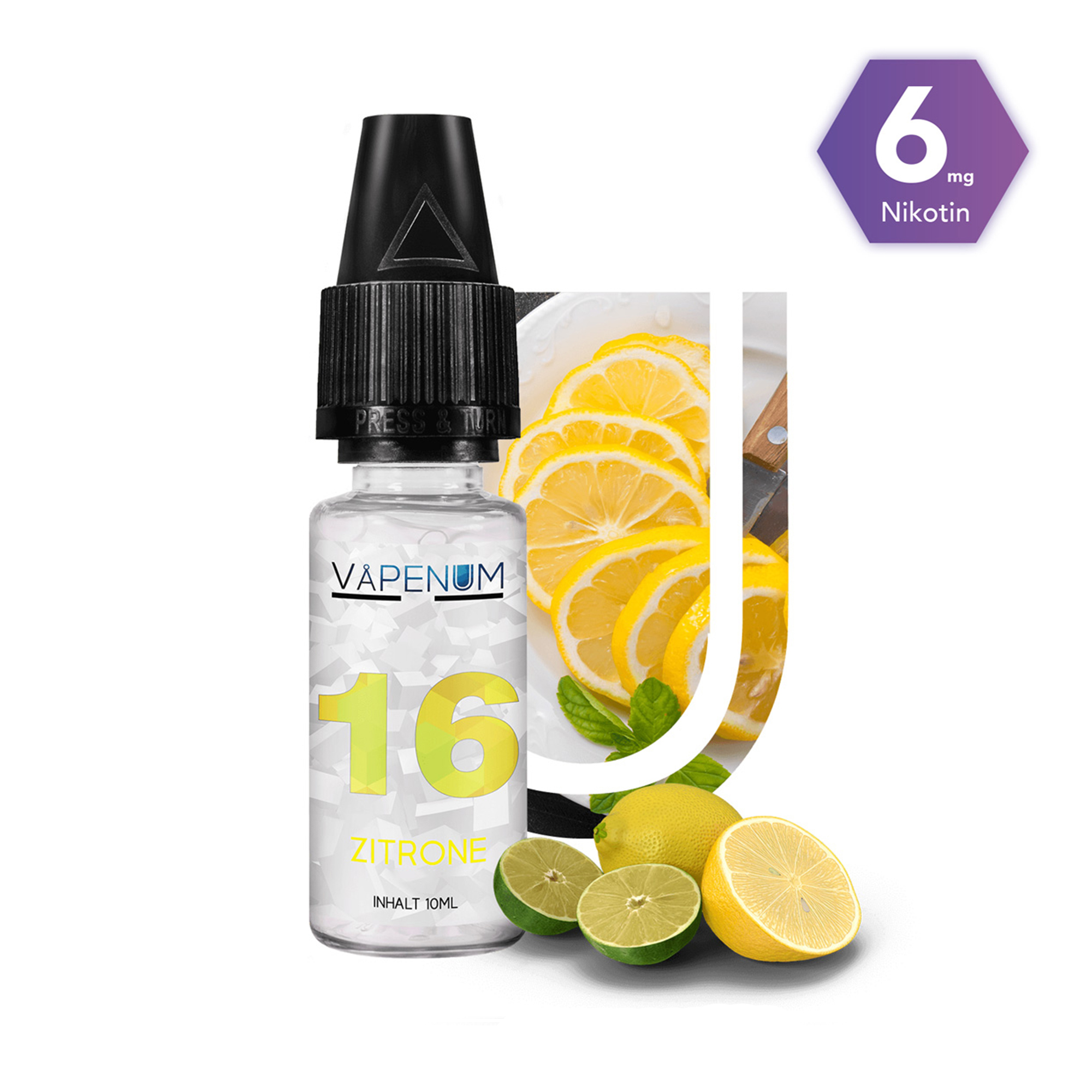 16 - Zitrone Liquid by Vapenum